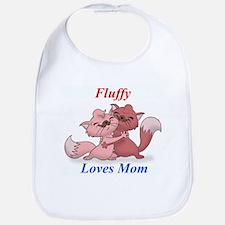 FluffyLovesMom Bib