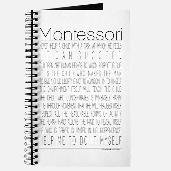 Maria Montessori Quotes Journal