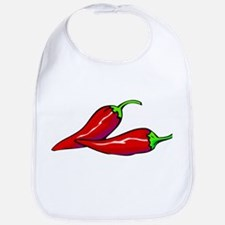 Red Hot Peppers Bib