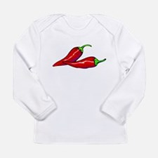 Red Hot Peppers Long Sleeve Infant T-Shirt