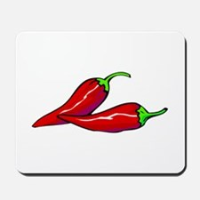 Red Hot Peppers Mousepad