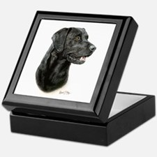 Labrador Retriever (black) Keepsake Box