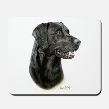 Labrador Retriever (black) Mousepad