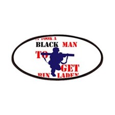IT TOOK A BLACK MAN Patches