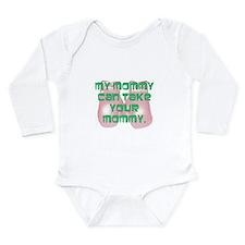 Boxing mommy Long Sleeve Infant Bodysuit