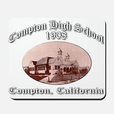 Compton High School 1908 Mousepad