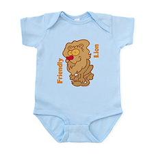 Lion Friend Infant Bodysuit