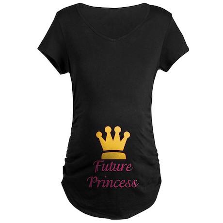 Future Princess Maternity Dark T-Shirt