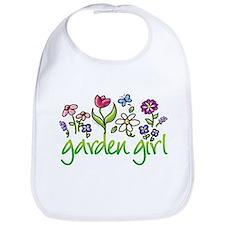 Garden Girl 2 Bib