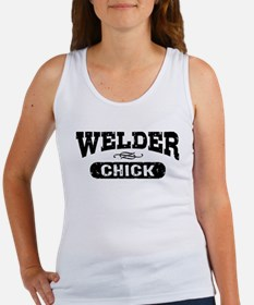 Welder Chick Women's Tank Top