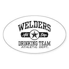 Welders Drinking Team Decal