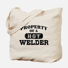 Property of a Hot Welder Tote Bag