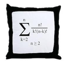 Poly Formula Throw Pillow