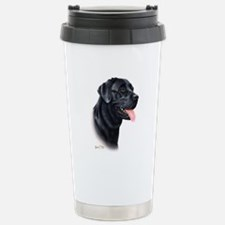 Labrador Retriever (black) Stainless Steel Travel
