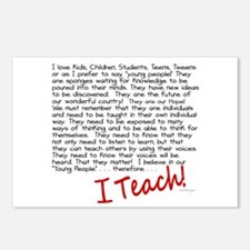 I Teach Postcards (Package of 8)