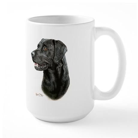 Labrador Retriever (black) Large Mug