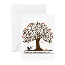 INFERTILITY Family Tree Greeting Cards (Pk of 20)