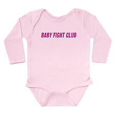 Cute Twin birth Long Sleeve Infant Bodysuit