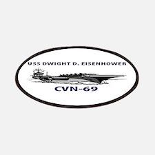 USS EISENHOWER Patches