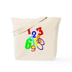NUMBERS II Tote Bag