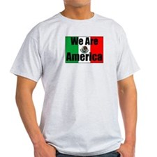 We Are America Ash Grey T-Shirt