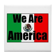 We Are America Tile Coaster