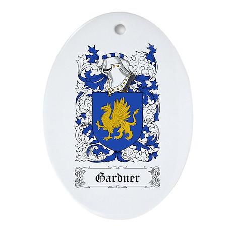 Gardner Ornament (Oval)