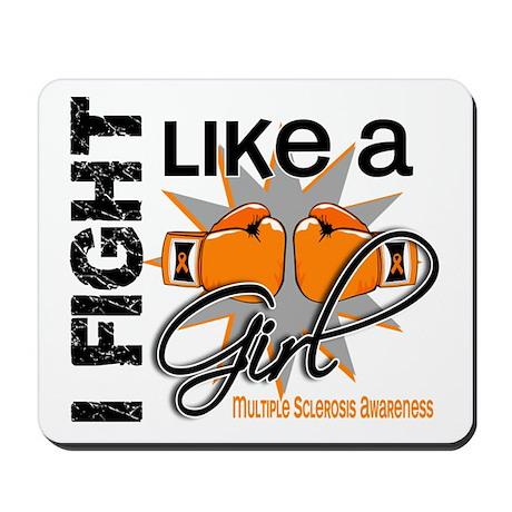 Fight Like A Girl Multiple Sclerosis Mousepad