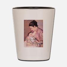 Breastfeeding is Beautiful Shot Glass