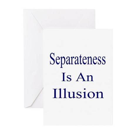 Separateness Greeting Cards (Pk of 20)