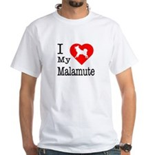 I Love My Malamute Shirt