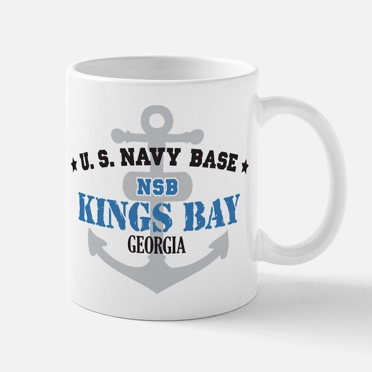 US Navy Kings Bay Base Mug