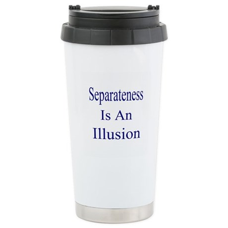Separateness Is Illusion Stainless Steel Travel Mu