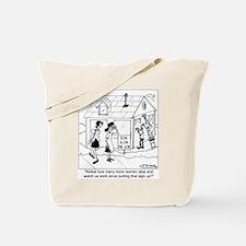 Elvis As a Contractor Tote Bag