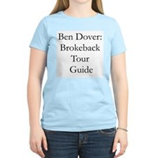 Tour Guide Women's Pink T-Shirt