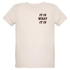 It Is What It Is Blue T-Shirt