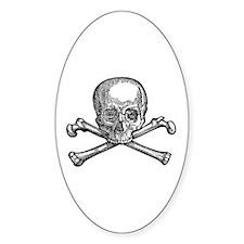 Masonic Skull Decal