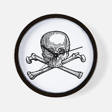 Masonic Skull Wall Clock