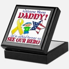 Welcome Home Daddy Keepsake Box