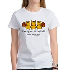 One by one, the squirrels Tee