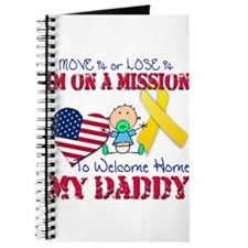 Welcome Home Daddy Baby Journal