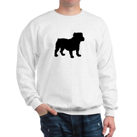 Bulldog Silhouette Sweatshirt