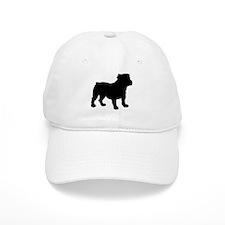Bulldog Silhouette Baseball Cap