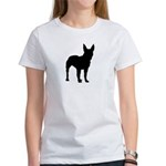 Bull Terrier Silhouette Women's T-Shirt
