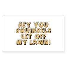 Hey Squirrel Decal