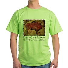 Bison Cave Painting Petroglyph T-Shirt