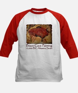 Bison Cave Painting Petroglyph Tee