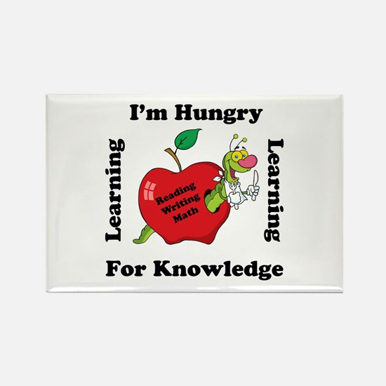 Funny Elementary school Rectangle Magnet