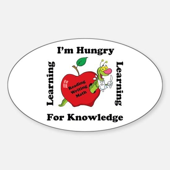 Cute Elementary school Sticker (Oval)