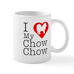 I Love My Chow Chow Mug